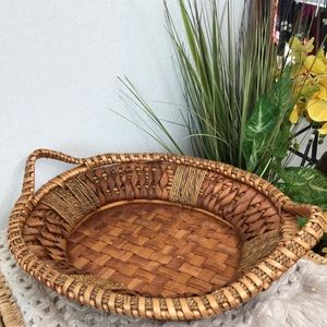 Pottery Barn Woven Wicker Basket